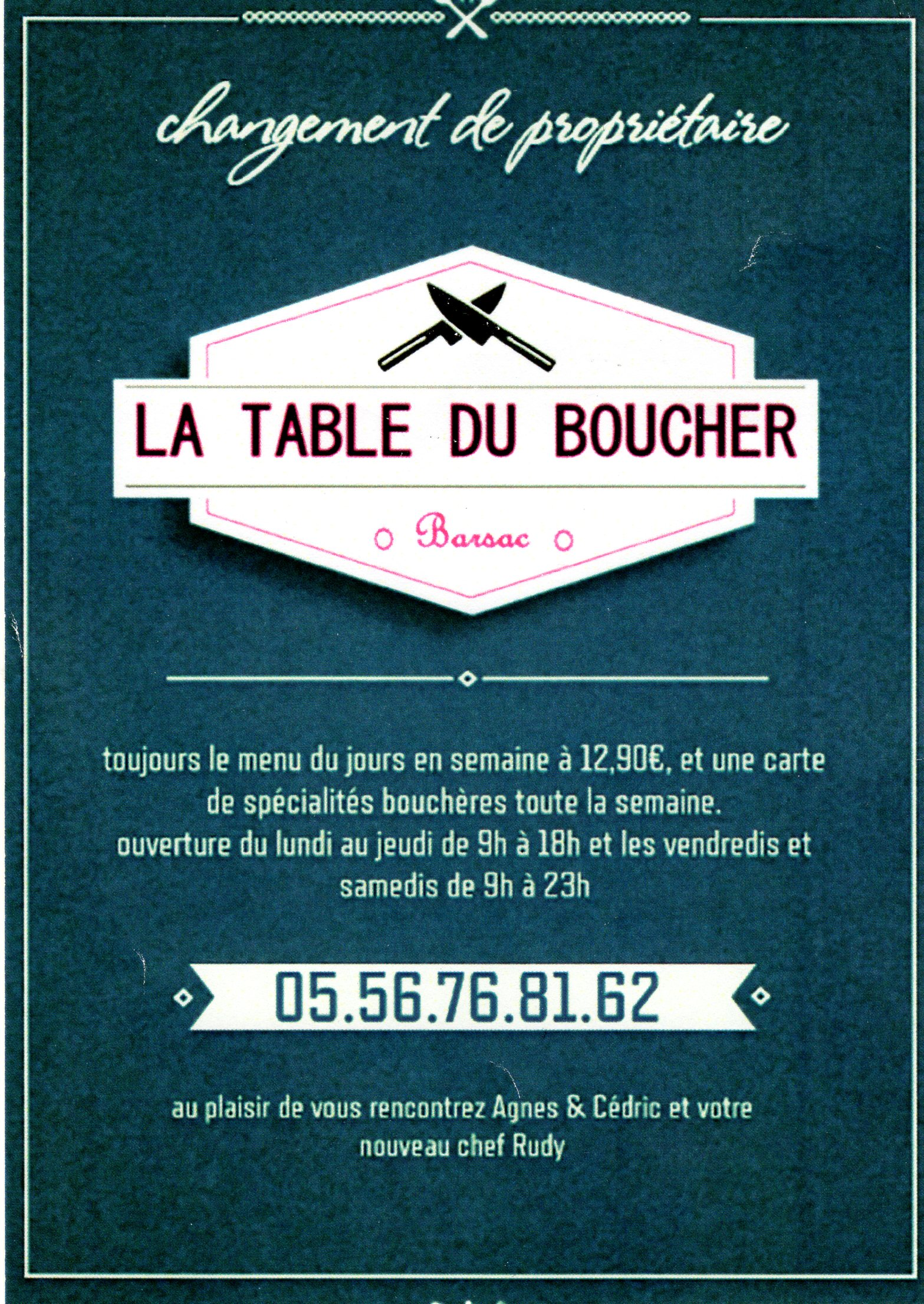 Restaurant mairie de barsac - Restaurant la table du boucher arcachon ...